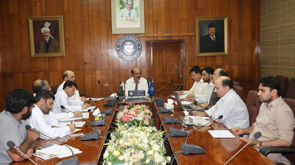 A meeting regarding extending the services of Safe and Smart Universities Project to all the centres of University of Peshawar is convened on Wednesday under the chairmanship of the Vice Chancellor Prof. Dr. Muhammad Asif Khan