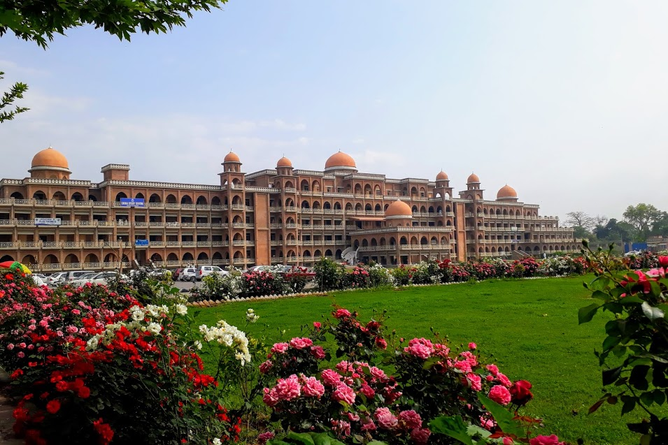 Academic block B, University of Peshawar